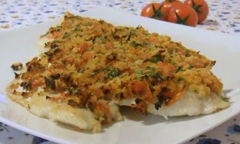 Filets de poisson gratinés WW
