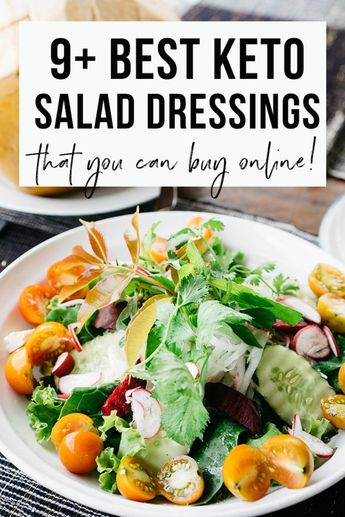 The ketogenic, or keto, diet may be a very-low-carb, high-fat diet that has been shown to deliver different health advantages. 10 Keto Salad Dressings to spice up Your Low-Carb life style.