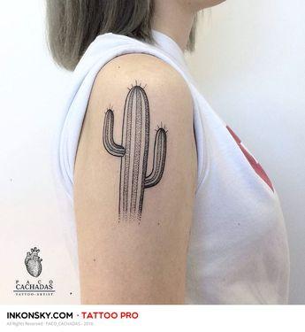 e8ca2c615 The 36 Coolest Cactus Tattoos To Ever Exist - TattooBlend