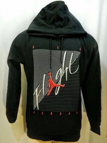 e96292636d6c Nike Air Jordan Flight Hoodie Sweatshirt Mens Medium BLACK NWT