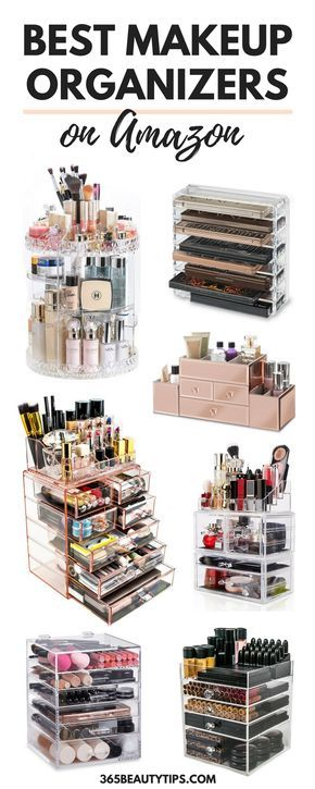Best Makeup Organizers On Amazon - The Best Makeup Storage Solutions