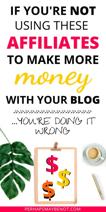 Best affiliate programs new bloggers should join depending on the niche in 2019. Learn what affiliate marketing is and how to be successful as an affiliate. #affiliatemarketing #makemoneyonline #affiliateprograms