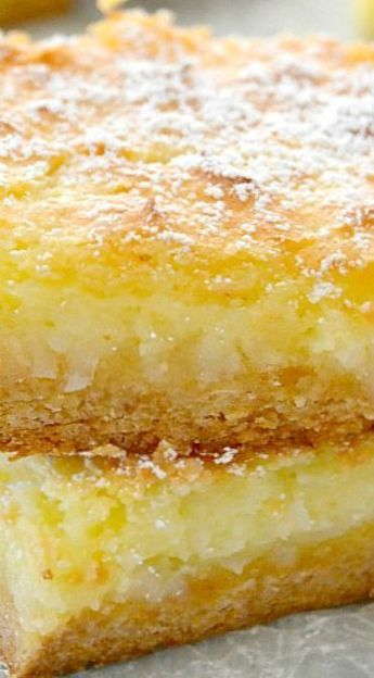 Coconut Cream Pie Gooey Bars