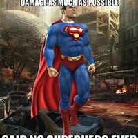 Superman Loves Destruction