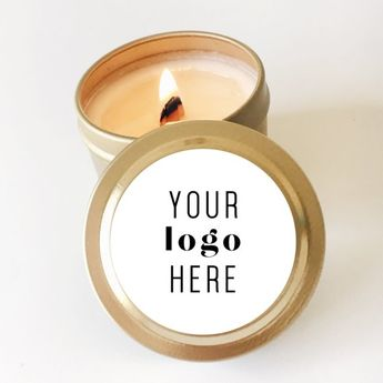 Private label candles, Business Favors, Client Gifts, Event Favors, Swag bag gift, Realtor Client Gi
