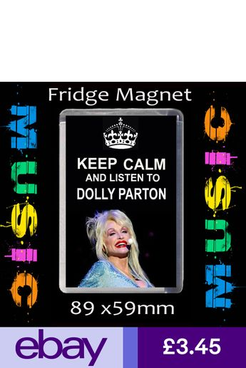 FRIDGE MAGNET LARGE 59MM X 89MM #CD KEEP CALM AND LISTEN TO ADELE.