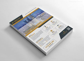 Multi Purpose Flyer Templates 002619 - Template Catalog