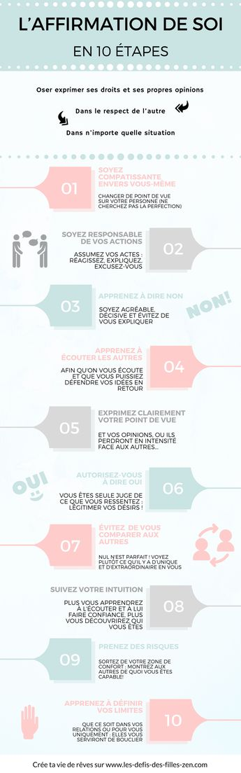 L'affirmation de soi en 10 étapes