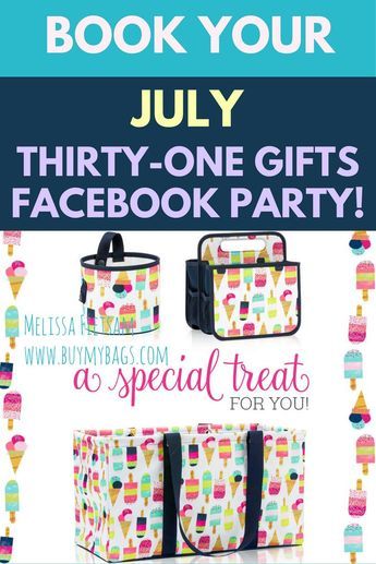 July Thirty-One Gifts Customer Special! - Carrie Martin