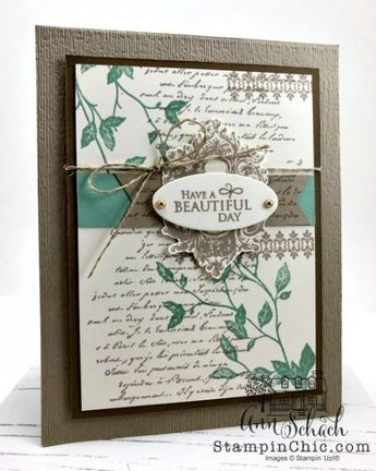 Elegant Any Occasion Card for On the CASE - The Stampin' Schach