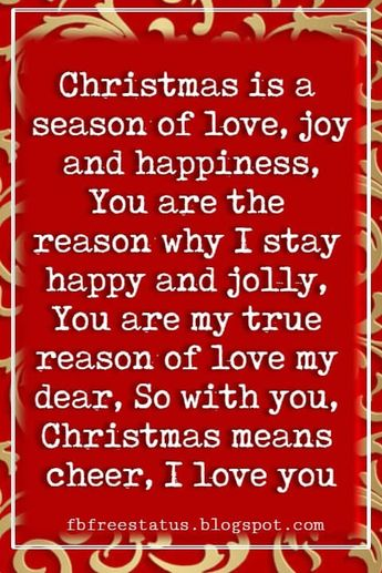 Christmas Love Quotes Messages For Her Him To Wish