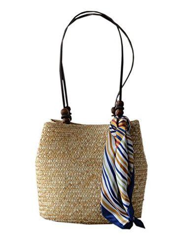 4.39 GBP Gift Bali Bag Round Rattan Bag Beach Bag Wicke
