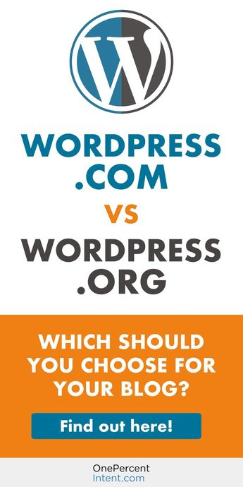 WordPress.com vs. WordPress.org - Which Should You Use For Your Blog?
