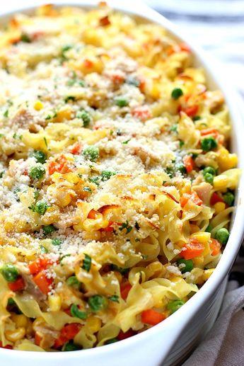 Healthy Tuna Noodle Casserole