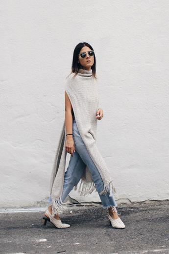 35 Nouvelles façons de porter des jeans cet hiver (Repérés chez les meilleures blogueuses mode)