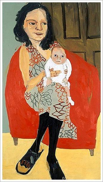 Chantal Joffe (1969) is een Engels kunstenaar gevestigd in Londen. Joffe schildert voornamelijk expressieve portretten van vrouwen en kinderen, vaak in zeer grote schaal, soms 3 meter hoog.