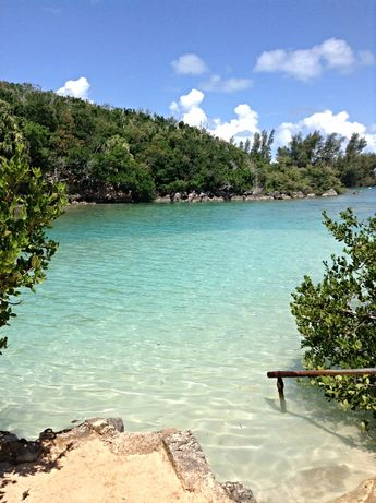 Bermuda grotto bay hotel crystal clear water