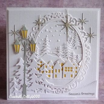 You know, I love white cards, this one has a bit of color, but it was really insp ...