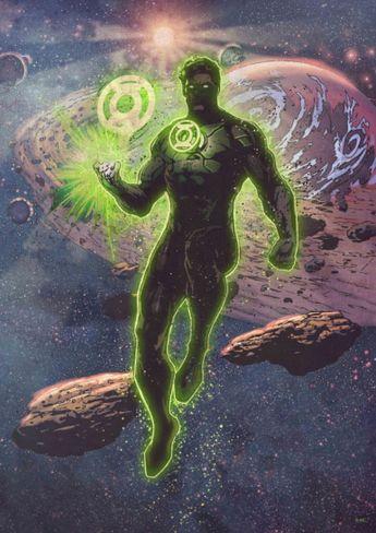 Green Lantern by DC Comics | metal posters