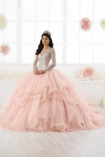 1f688956 Strapless Ruffled Quinceanera Dress by House of Wu 26872