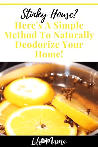 Stinky House? Here's A Simple Method To Naturally Deodorize Your Home!
