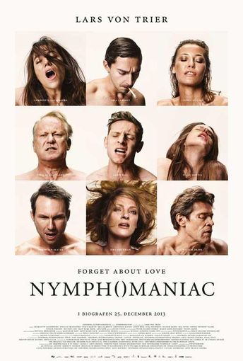 Nymphomaniac Part One (Danish) 27x40 Movie Poster (2014)