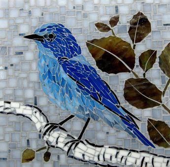 Mountain Bluebird - Delphi Artist Gallery