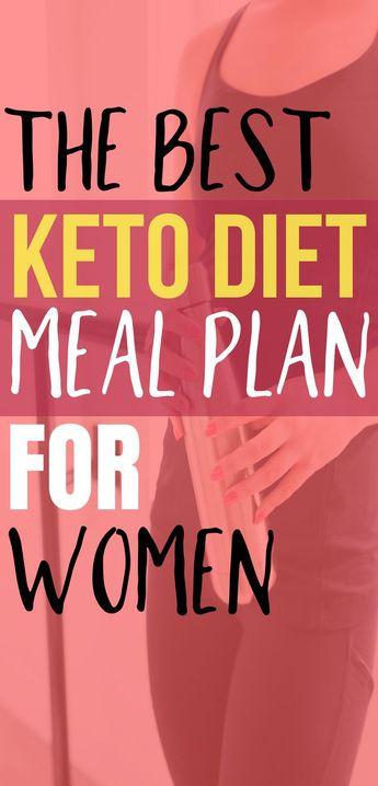 Best Keto Diet Meal Plan For Women