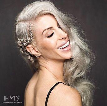#editorial #hair #makeup #braid #waves #curls #retro #vibe #80s #inspo #inspiration #ideas #modern #trendy #vintage #edgy #shorthair #fun #glam #hollywood #redcarpethair #beauty #hairandmakeupbysteph