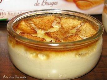 Crèmes fermières à la pomme et sucre à la cannelle