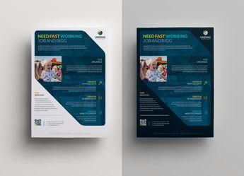 Sphinx Elegant Premium Business Flyer Template - Graphic Templates