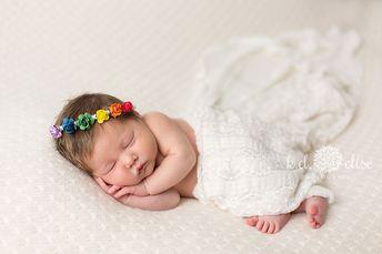 Rainbow Baby Newborn Session- Alexis