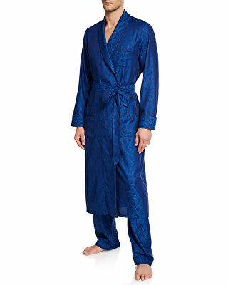Derek Rose Designer Men s Paris 15 Cotton Robe  667e38760