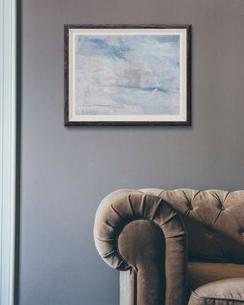calming bedroom wall art