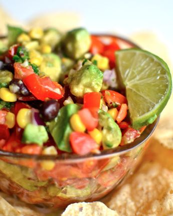 Chunky Avocado Lime Salsa