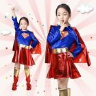 Halloween costume party children's superman clothes cosplay anime costume superw #Costume