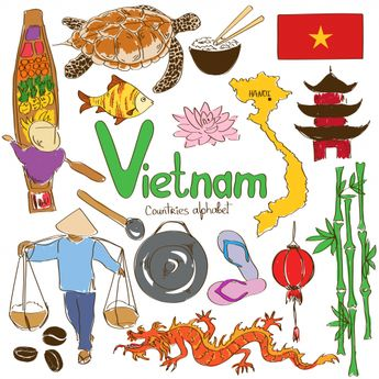 As we near the end of the alphabet, 'V' is for Vietnam! Help your child study this fascinating country with this free download. #Geography #Vietnam #AsianCountries