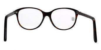6c7a78b88cc Cartier C Décor Black Acetate Wayfarer Optical Eyewear CT00