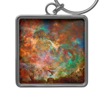 Carina Nebula in Argo Navis constellation Keychain | Zazzle.com