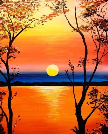40 Acrylic Painting Ideas For Beginners