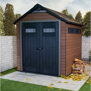 Outdoor Living Today Maximizer 6 ft  W x 6 ft  D Wood Stor