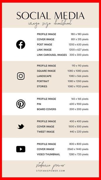 2019 Social Media Image Size Guide | Youtube Seo 2019 | Youtube Seo Tools 2019 | Youtube Keyw...