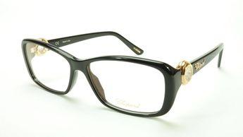 63556afc207 Chopard Eyeglasses Frame VCH 140S 0700 Acetate Black Gold I