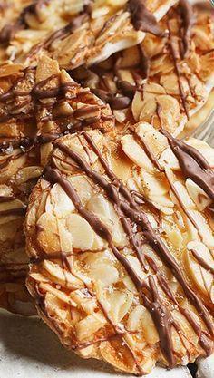 Double Chocolate Almond Florentines