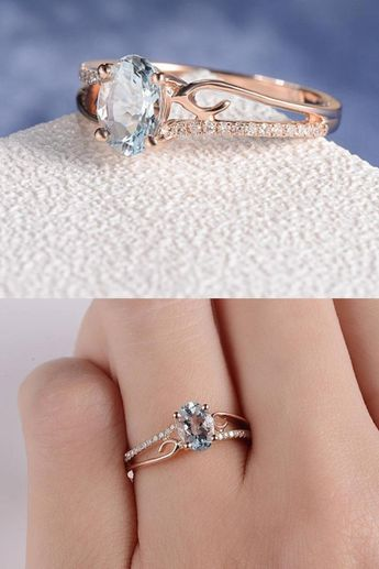 Oval Bride Engagement Ring