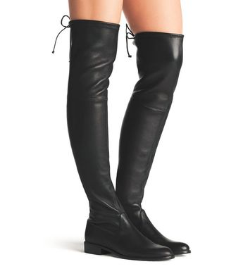 0ffb3a3b2a0 NEW Stuart Weitzman Lowland Leather Over the Knee boot Shoe