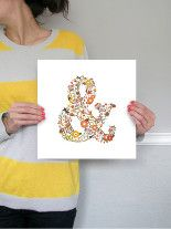 elegampersand by Hello Hailey at Minted