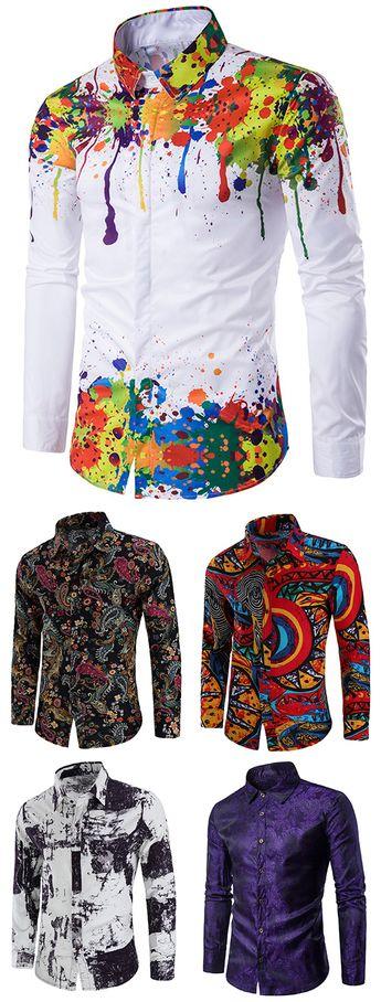 FREE SHIPPING OVER $39!Casual Shirts for Men - Buy new arrivals & latest Casual Shirts for Men from Dresslily.com.  #dresslily #men