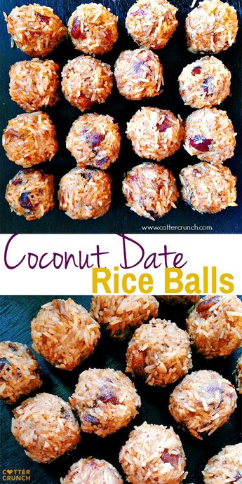 Four Food hacks to try out and Coconut Rice Ball Recipe