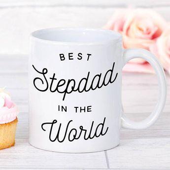 Step Dad Fathers Day Gift Best Stepdad Mug